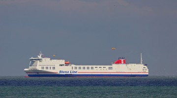 Brand in machinekamer Stena Transporter
